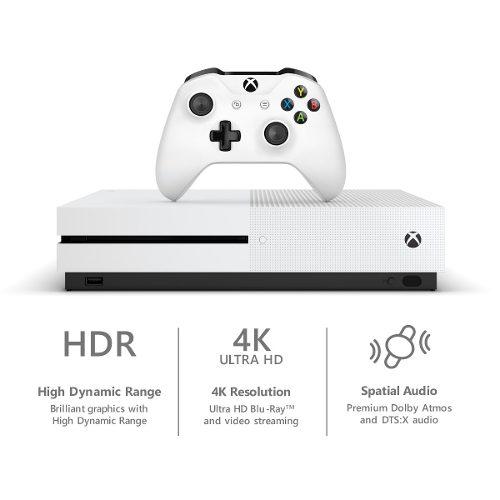 Microsoft Xbox One S 500gb Consola Nueva Y Sellada