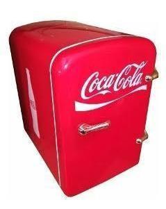 Mini Refrigerador Coca-cola Original Enfría Y Calienta