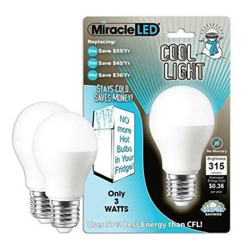 Miracle Led 604724 3watt Refrigerador Y Congelador Light Lon