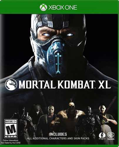 ..:: Mortal Kombat Xl De Xbox One::.. En Game Center