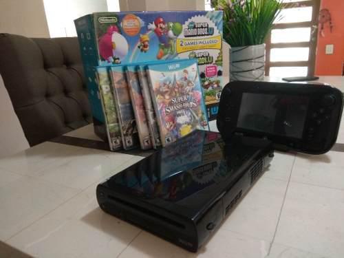 Wii U 32 Gb Buen Estado Con Caja