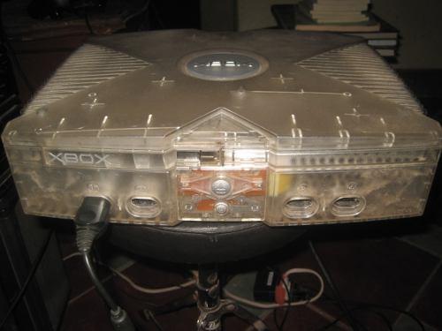 Xbox Clásico Edición Cristal+9juegos Y 1 Control Genérico