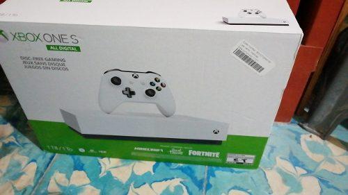 Xbox One S 1tb All Digital Nuevo Con Garantía + 3 Juegos
