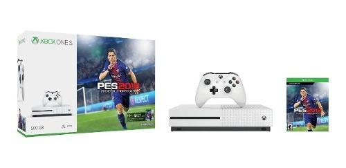 Xbox One S 500gb + Pes 18