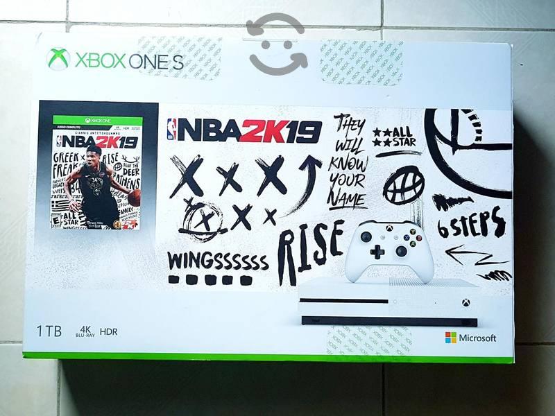 Xbox One S de 1TB completamente nuevo