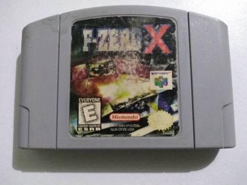 F Zero X Videojuego Nintendo 64 Cartucho Original