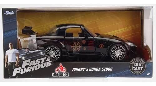 Honda S Johnny 1:24 Jada Rápido Y Furioso Nuevo Oferta