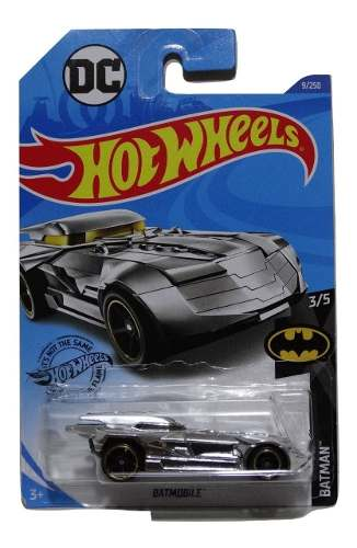 Hot Wheels  Batmobile Batman 3/5 Caja A Cromado