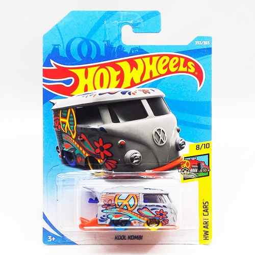 Hot Wheels Kool Kombi Volkswagen Kk Gris Vw  Hotwheels