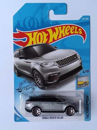 Hot Wheels Range Rover Velar Caja P  Factory Fresh