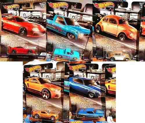 Hot Wheels Serie Premium Cruise Boulevard Car Culture