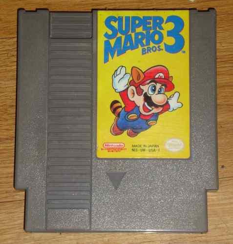 Juego De Nintendo Nes Super Mario Bros 3 (ss02016)