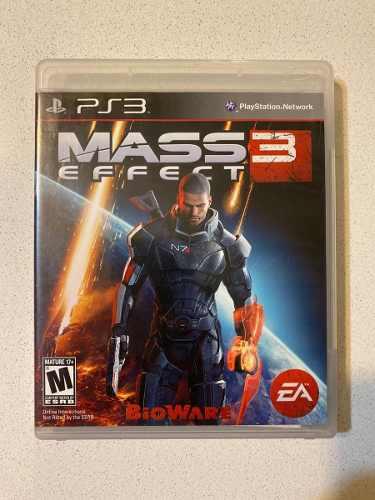 Juego Mass Effect 3 Ps3 Usado