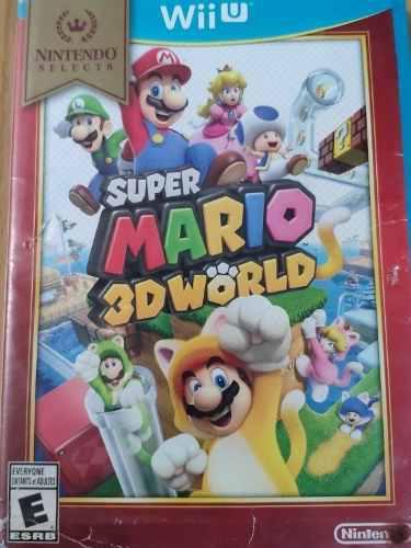 Juego Nintendo Wii U Súper Mario 3d World