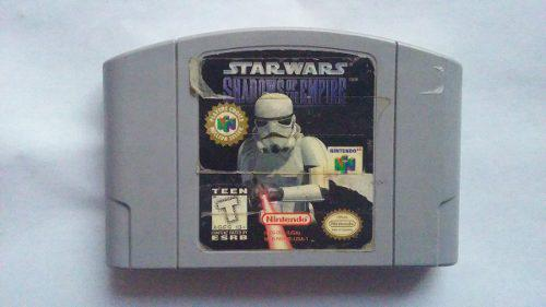 Juego Para Nintendo 64 Starwars Shadows Of The Empire