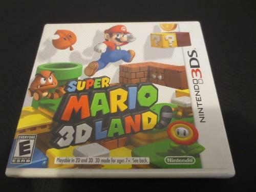 Juego Super Mario 3d Land Para Nintendo 3ds Usado Con Caja