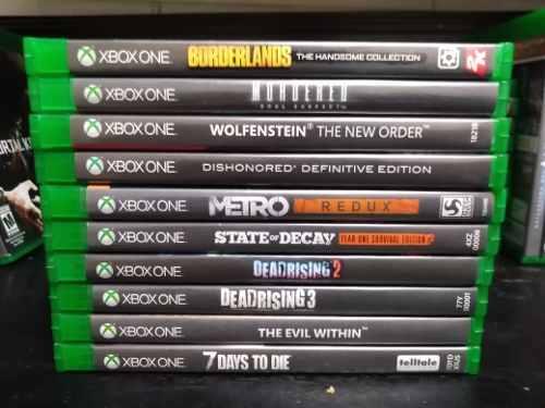 Lote De 10 Juegos Para Xbox One Gore & Horror Envío Gratis