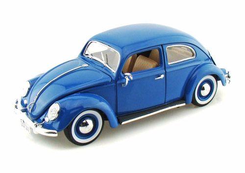 Maisto Volkswagen Kafer Beetle  Azul 1/18 Diecast Vw