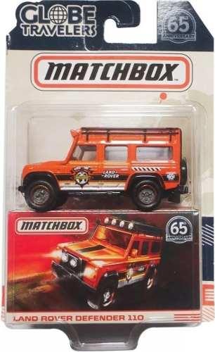 Matchbox Land Rover Defender 110 Globe Travelers Mattel