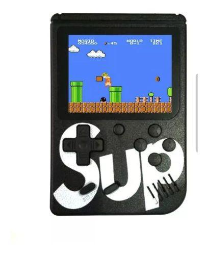 Mini Consola Portatil Game Box 400 Video Juegos Color Negro