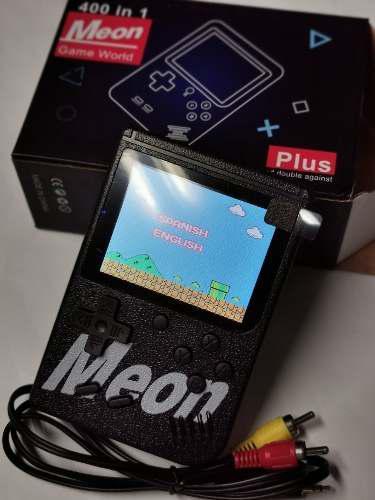 Mini Consola Portátil Game Boy 400 Video Juegos,negro