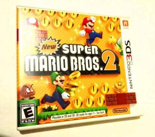 New Super Mario Bros Nintendo 3ds Video Juego En Caja