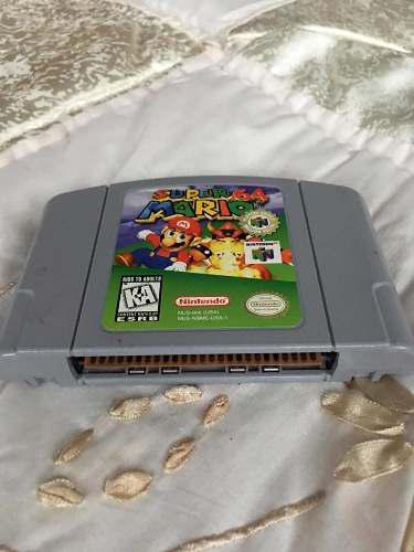 Nintendo 64 Video Juego Súper Mario 64