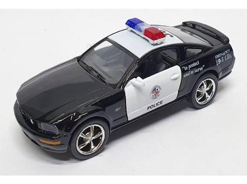 Patrulla Ford Mustang Gt  Kinsmart Escala 1:38 Friccion
