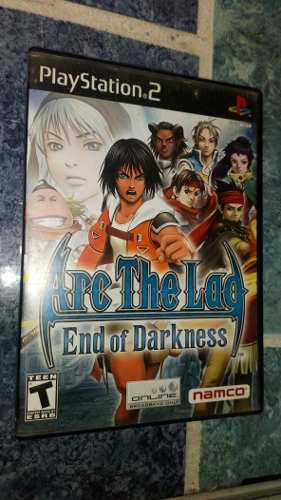 Playstation 2 Ps2 Video Juego Arc The Lad End Of Darkness