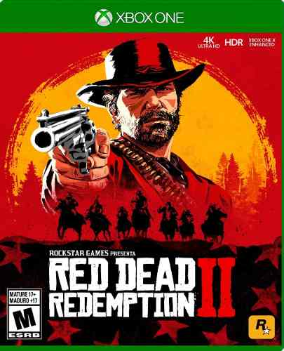 Red Dead Redemption 2 Xbox One Nuevo Sellado Juego