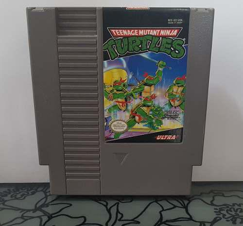 Video Juego Teenage Mutant Ninja Turtles Para Nes Nintendo