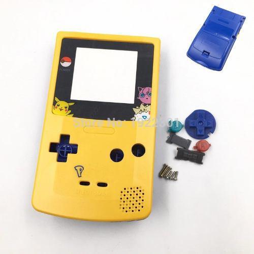 Carcasa Game Boy Color Pikachu Gbc Pokemon Envio Gratis