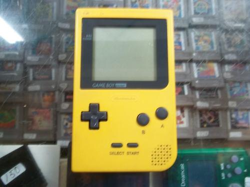 Consola Nintendo Game Boy Pocket Amarrilla