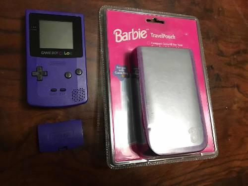 Game Boy Color Con Tapa De Pilas
