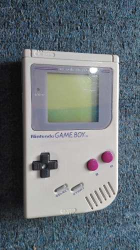 Game Boy Tabique Funcionando Con Tapa De Pila,buena Estetica