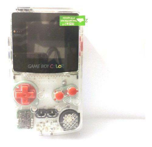 Gameboy Color Gbc Backlight Mod Trasparente