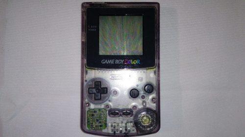 Gameboy Color Transparente, Negro Humo En Buen Estado.