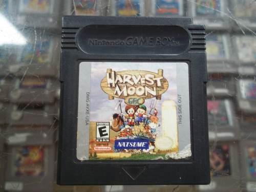 Harvest Moon Gbc Nintendo Game Boy Color