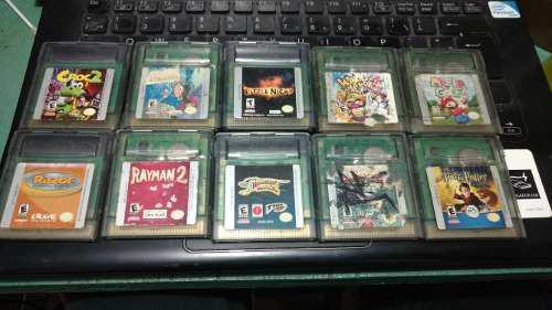 Juegos Para Gameboy Color Cartuchos Originales Nintendo Gb
