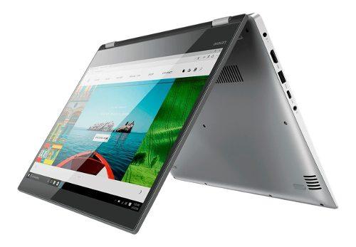 Laptop 2 En 1 Yoga arr Rysen  Ram 128 Ssd W10