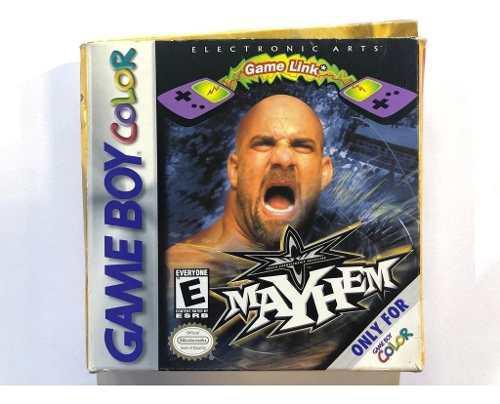 Mayhem Game Boy Color Gbc En Caja Retromex Tcvg