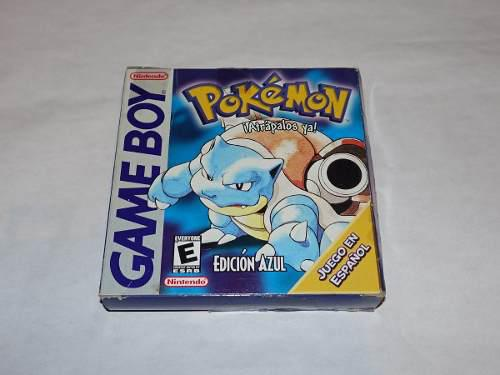 Pokemon Blue Azul Para Game Boy En Español !