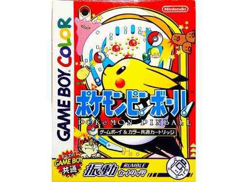 Pokemon Pinball Japones - Pocket Monsters Nintendo Gbc & Gba