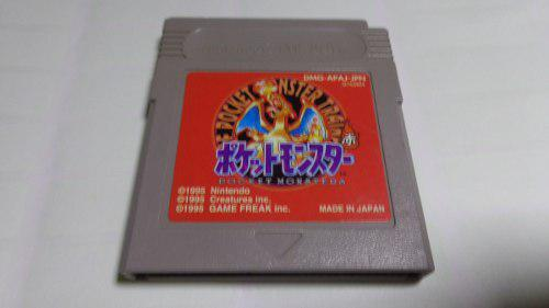 Pokemon Red Version Japonesa Original Gameboy