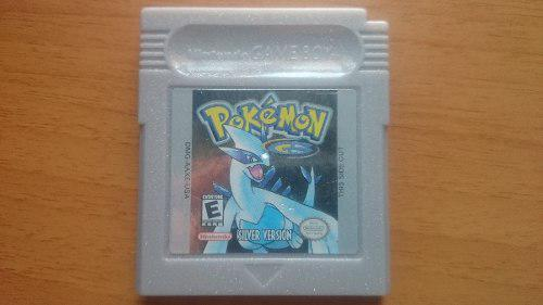 Pokemon Silver Game Boy Color Grabando Gbc