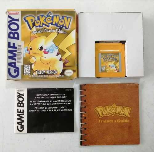 Pokemon Yellow Original Gameboy Nintendo Pokemon Amarillo Gb