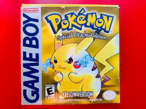 Pokemon Yellow Version Gb