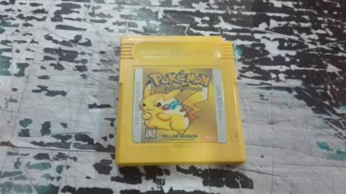 Pokemon Yellow Version Generico Para Nintendo Game Boy