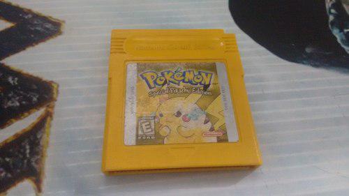Pokemon Yellow Version Para Nintendo Game Boy Funcionando