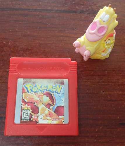 Pokémon Red Version Game Boy Gb Original! Garantizado!:)